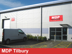 Exterior View Of MDP Tilbury Branch